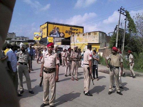 Forces zero in on Gurdaspur over suspicious activity