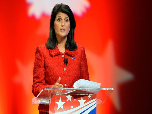 Nikki Haley to deliver Republican response to Obama address