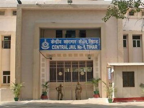 Tihar official's son shot at in jail complex