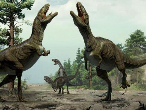 Dinosaur foreplay: They danced to woo mates