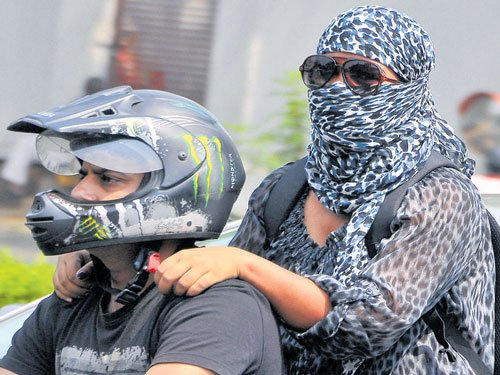 Helmet must  for pillion riders from Tuesday