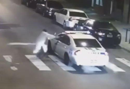 IS sympathizer shoots Philadelphia cop in 'chilling' ambush
