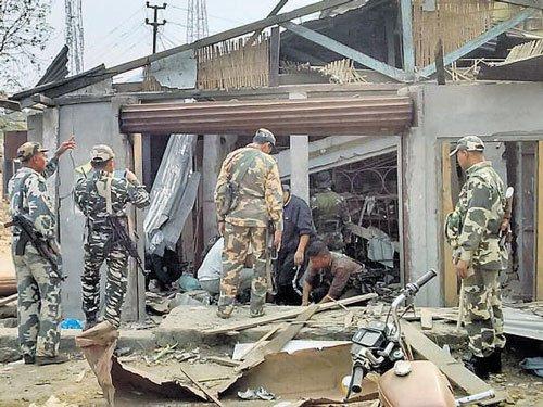 Nine injured in Garo hills blast