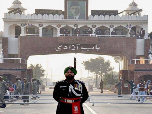 First Pakistani Sikh Ranger shines at Wagah border ceremony