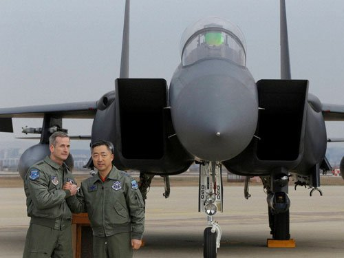 US deploys B-52 bomber as Korea crisis deepens