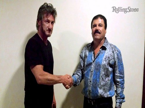 Actor Sean Penn under probe for meeting with drug lord