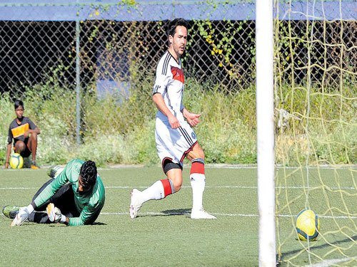 Germans rout Ozone
