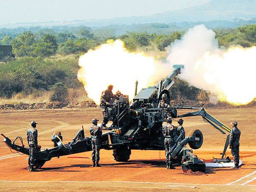 Gunners showcase fire power