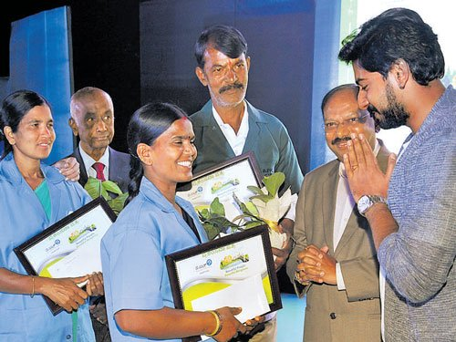 Civic workers honoured at rare, glittering event