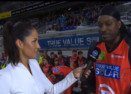Gayle under fire again for BBL no-run