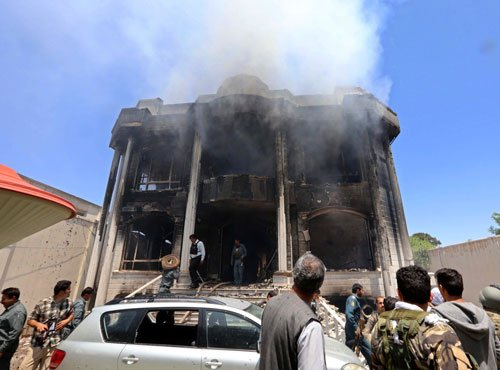 Pakistani military officers behind Indian consulate attack: Afghan police