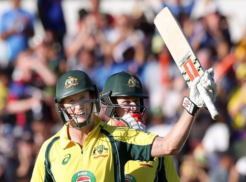 First ODI: Australia prevail in 'run'athon