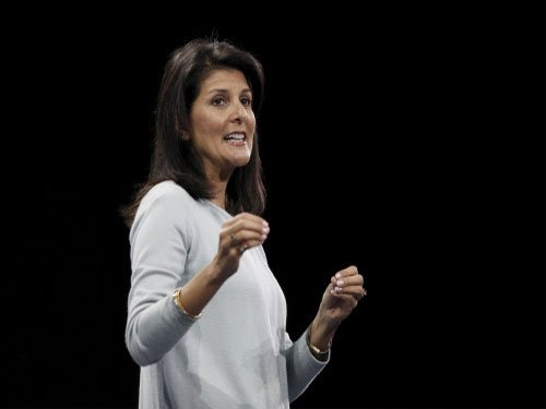 White House praises Haley for her 'courage'