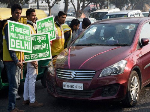 Apex court appreciates odd-even Delhi formula