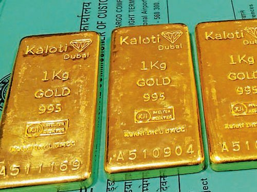2 held for smuggling gold from Dubai