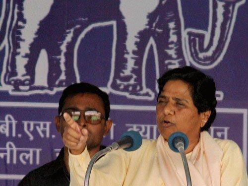 BJP raking up Ram Temple issue for UP polls: Mayawati