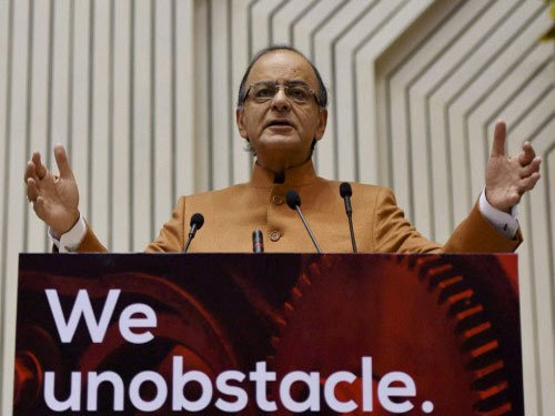 Jaitley promises fewer regulations to boost start-ups