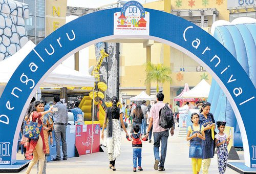A fun weekend carnival for people of all age groups
