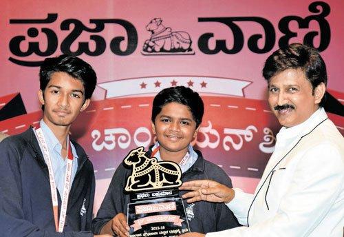 Presidency School wins  Prajavani quiz contest