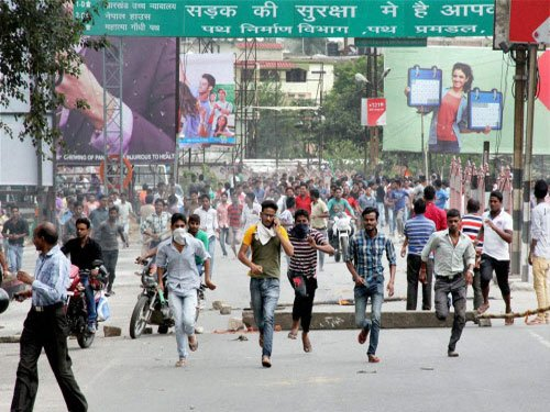 Clash in MP town; 50 held, curfew imposed