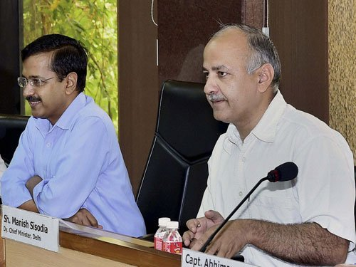 Kejriwal, Sisodia attack Centre over JCA new rules