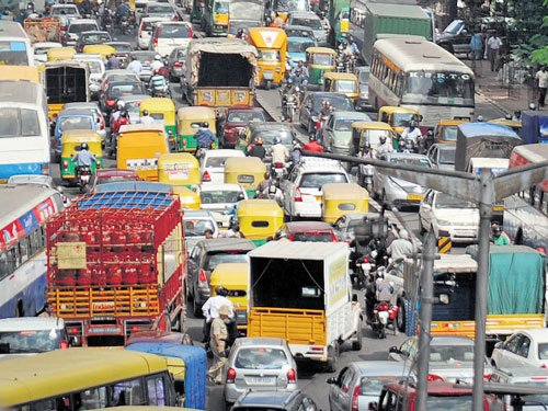 Shared transport: New mantra  to ease traffic woes in City