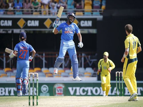 3rd India-Australia T20 goes Pink for McGrath Foundation
