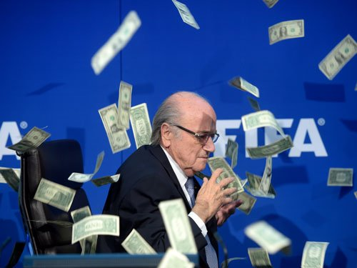FIFA's Blatter is still being paid his salary despite ban from world soccer