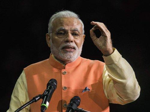 Modi attacks Cong over 'lack of development' in Assam