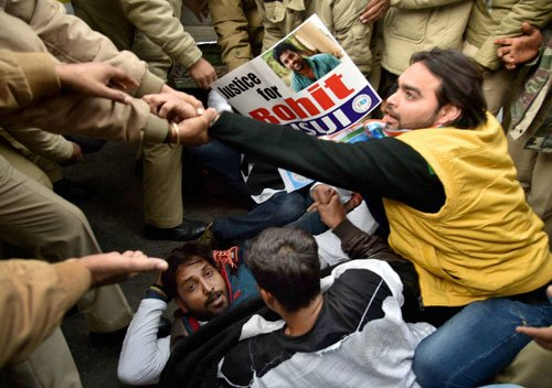 Dalit student death: Protests spread to more cities