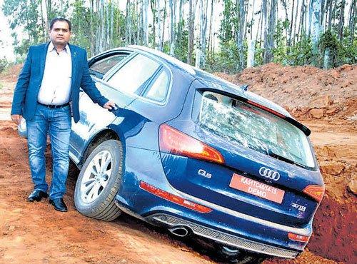 Audi Q-Drive held in B'luru