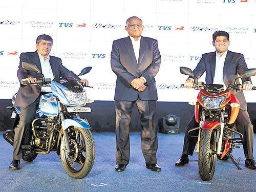 TVS revs in 2 new bikes
