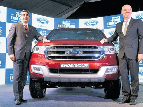 Ford unveils new Endeavour
