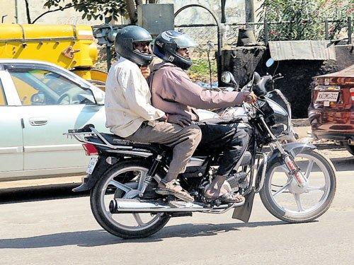 Helmet rule on in B'luru; in other cities from Feb 1