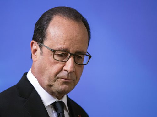 Consulate gets threat letter on Hollande visit