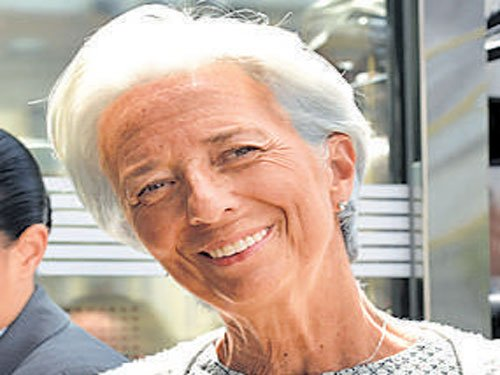 Lagarde to run for 2nd IMF term
