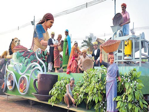 State's R-Day tableau to show coffee theme