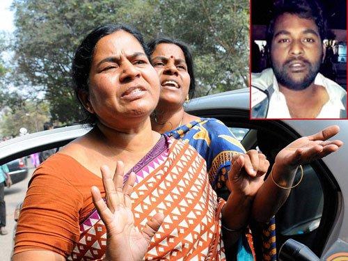Rohith's family rejects ex-gratia, criticises Modi, Irani