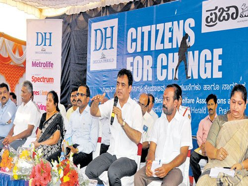 Residents extract promise of action at Malleswaram meet
