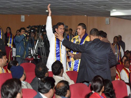 Dalit students on edge as UP university acts against Modi protesters