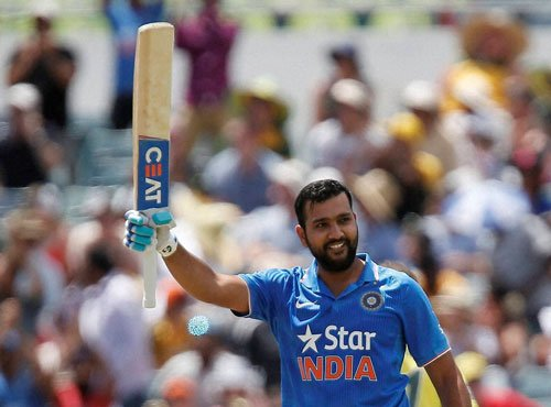 Rohit claims career-best fifth spot in ICC batting chart