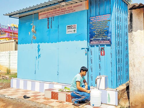 Re one for 20 litres of water in Ch'nagar