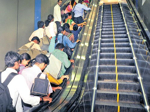 More escalators likely at City, Yeshwantpur stations by April