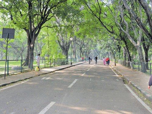 Cubbon Park sans security since Dec