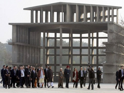 Corbusier's Capital Complex gets limelight