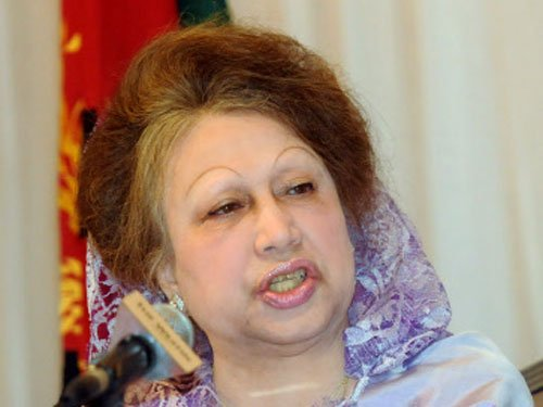Treason case filed against Khaleda Zia