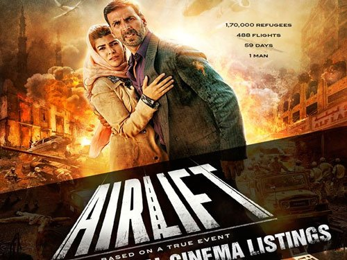 'Airlift' mints Rs.44.30 crore on opening weekend