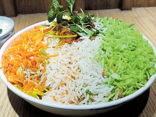 Savour the flavours of tri-colour