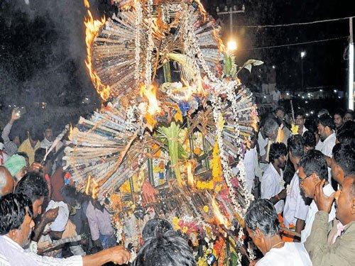 Chikkallur jatre, a festival of harmony