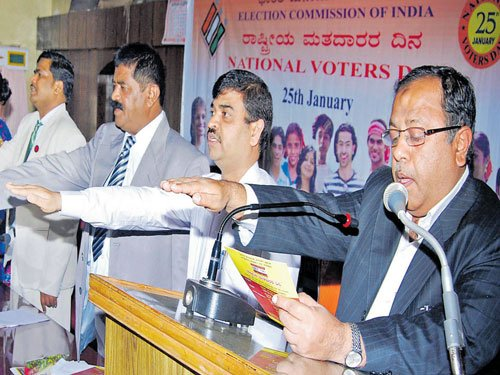 Exercise right to vote, saus judge